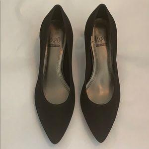 Impo Stretch, kitten heels in Black NWOT